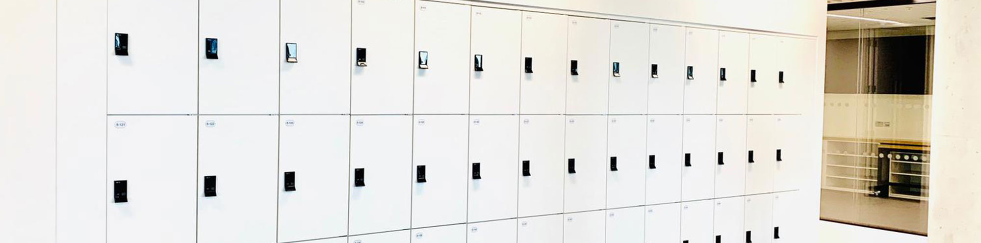 RFID Lockers For Major British Publisher